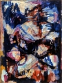 "P63 - ""Abstraction"" by Victor Thall 7 x 10 inches Oil on Paper"