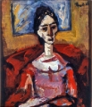 "P166 - ""Mona"" by Victor Thall 11 x 15 inches Oil on Paper"