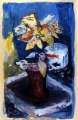 "048 - ""Still Life"" by Victor Thall 24 x 37 inches Mixed Media/Paper on Board (Framed & Restored)"